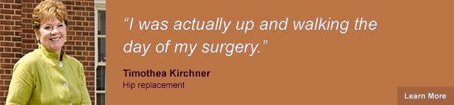 Timothea Kirchner - Hip Replacement