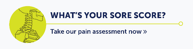What's your sore score?