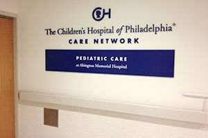 CHOP Care Network Sign