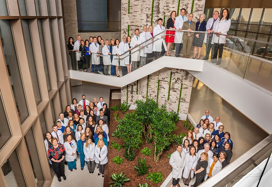 Asplundh Oncologist Staff Group Photo