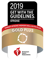 2019 Elite Plus Gold Award for Stroke