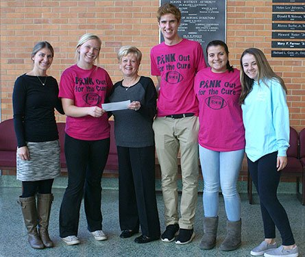 Abington Senior High School Donates to Rosenfeld Cancer Center