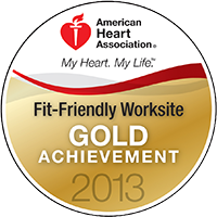 Fit-Friendly Gold Achievement Award