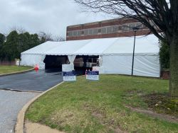 Levy Donation Tent
