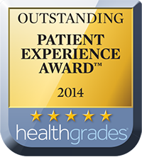 Healthgrades Outstanding Patient Experience Award