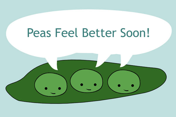 Get Well (Peas)